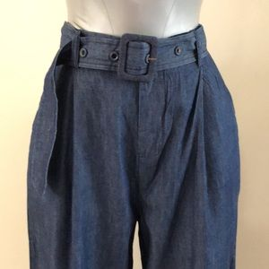 """NWT:  size 4 European brand """"Thought"""" flared pants"""
